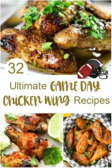 32 Ultimate Game Day Chicken Wing Recipes