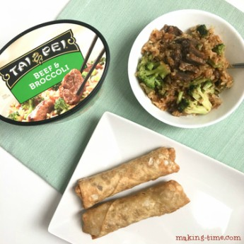My Quicker Than Take-Out Dinner Solution   #ad #TaiPeiFrozenFood #IC