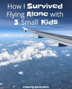 How I Survived Flying Alone with 3 Small Kids   #flyingalonewithkids #flyingwithkids
