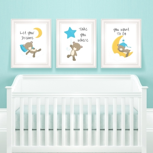 Free Baby Room Wall Decor Printables | #babyroom #babydecor #walldecor #freeprintable