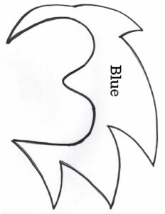 Sonic The Hedgehog Mask Template Making Time For Memories
