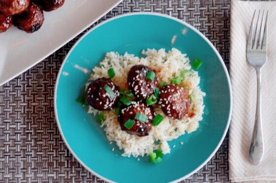 Asian Glazed Meatballs | #Asianflavor #meatballs #recipe