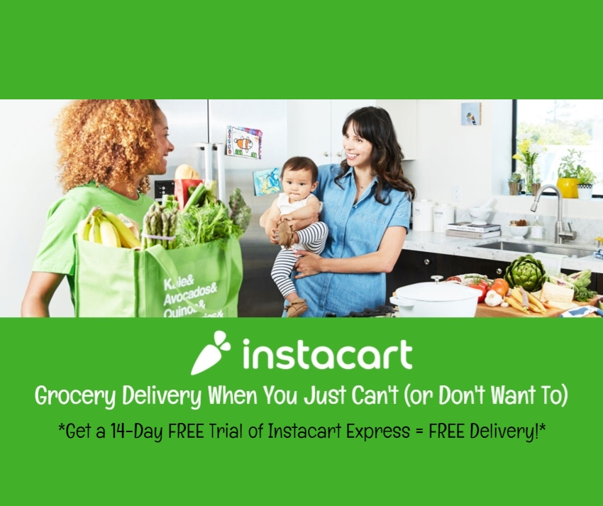 Instacart: Grocery Delivery When You Just Can't (or Don't Want To) | #Instacart #grocerydelivery #freetrial