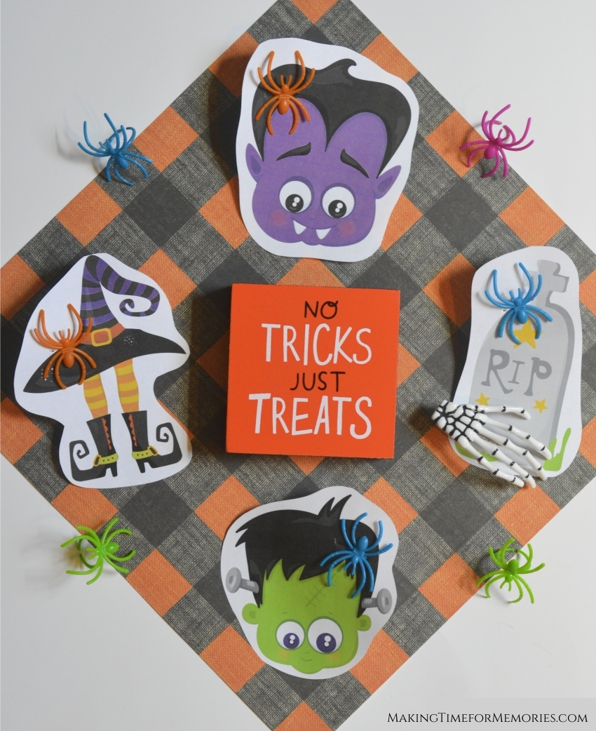 Halloween Spider Ring Treats ~ #Halloween #noncandytreat #spiderring #classroomtreat