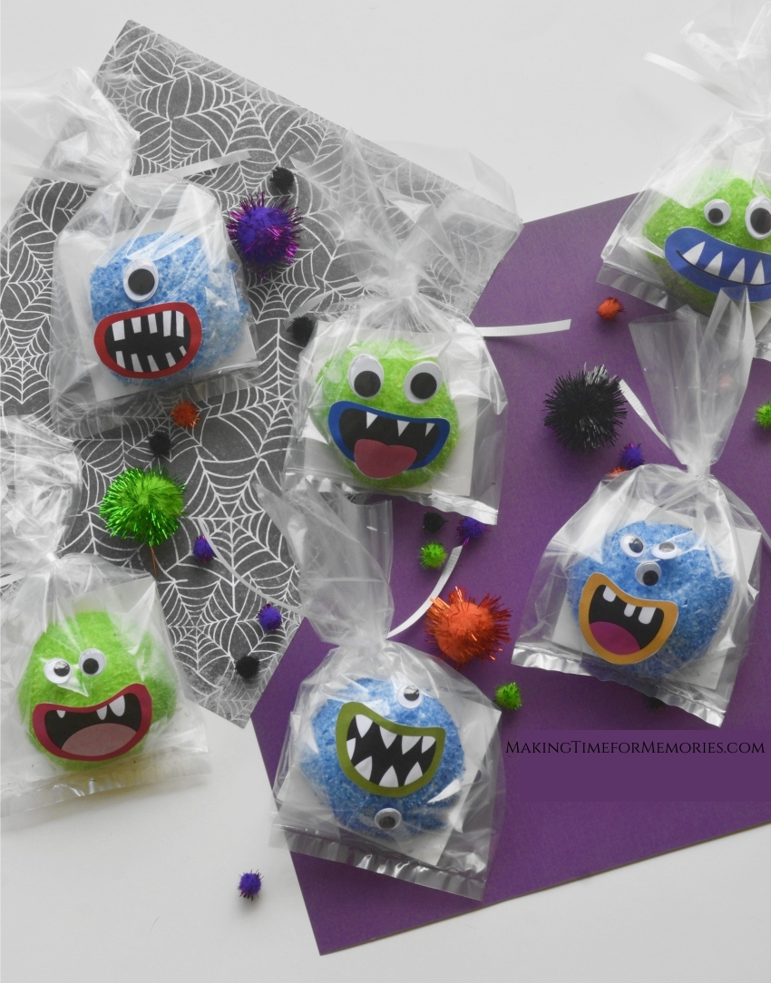 Halloween Hostess Snoball Monsters
