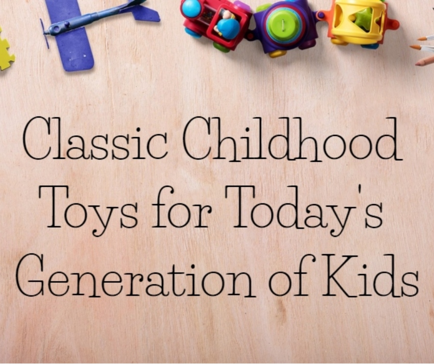 Classic Childhood Toys for Today's Generation of Kids | #HolidayGiftGuide #giftsforkids #giftideas #TheOregonTrail #FisherPrice
