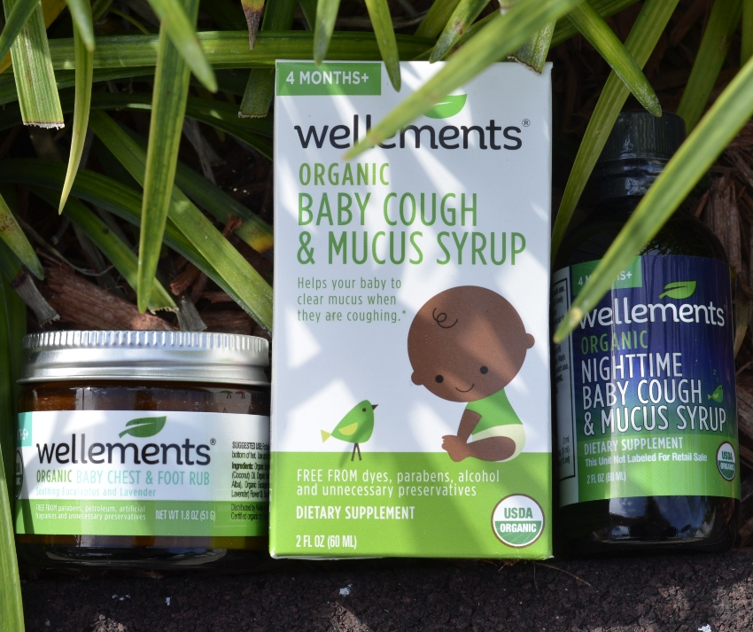 Helping Baby Fight the Cold & Flu with Wellements ~ #sickbaby #Wellements #organic #preservativefree #safeforbaby #coldandflu