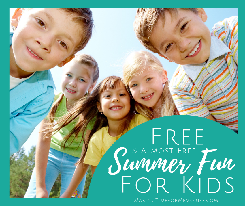 Free & Almost Free Summer Fun for Kids ~ #summerfun #freebies #freesummerfun