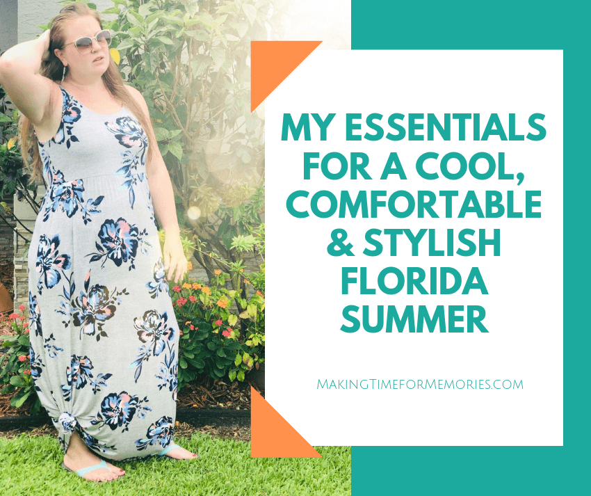 My Essentials for a Cool, Comfortable & Stylish Florida Summer ~ #Okabashi #summerwardrobe #summersandals #summeressentials