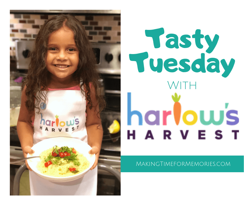 Tasty Tuesday with Harlow's Harvest ~ #HarlowsHarvest #TastyTuesday #kelpnoodles #kidswhocook