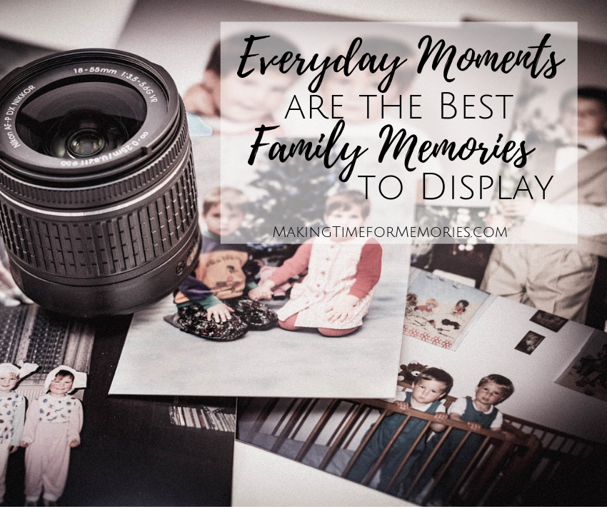 Everyday Moments are the Best Family Memories to Display | #canvasfactory #familymemories #canvasprint #giveaway
