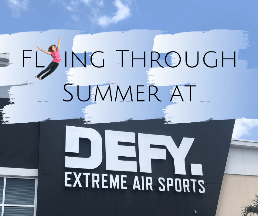 Flying Through Summer at DEFY Fort Myers ~ #DEFY #DEFYFortMyers #summerfun #SummerFuninSWFL