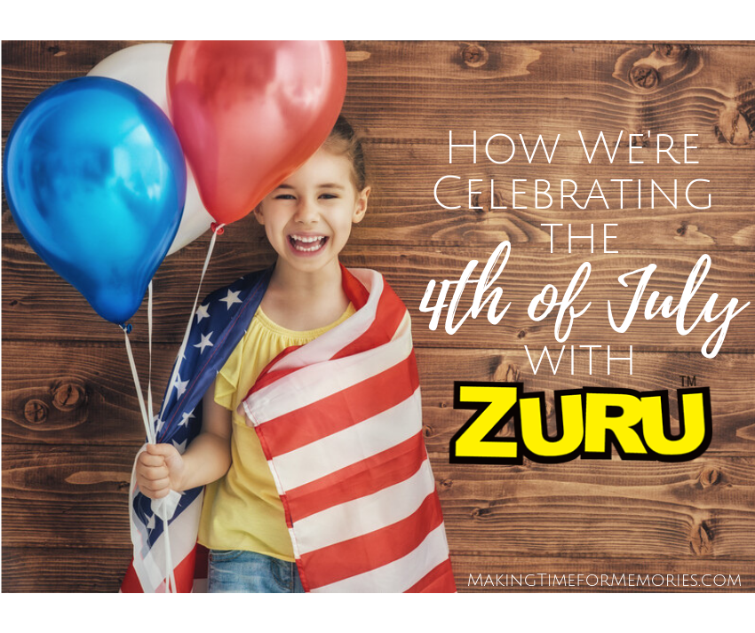 How We're Celebrating the 4th of July with ZURU ~ #ZURU #bunchoballoons #summerfun #bunchoballoonsparty