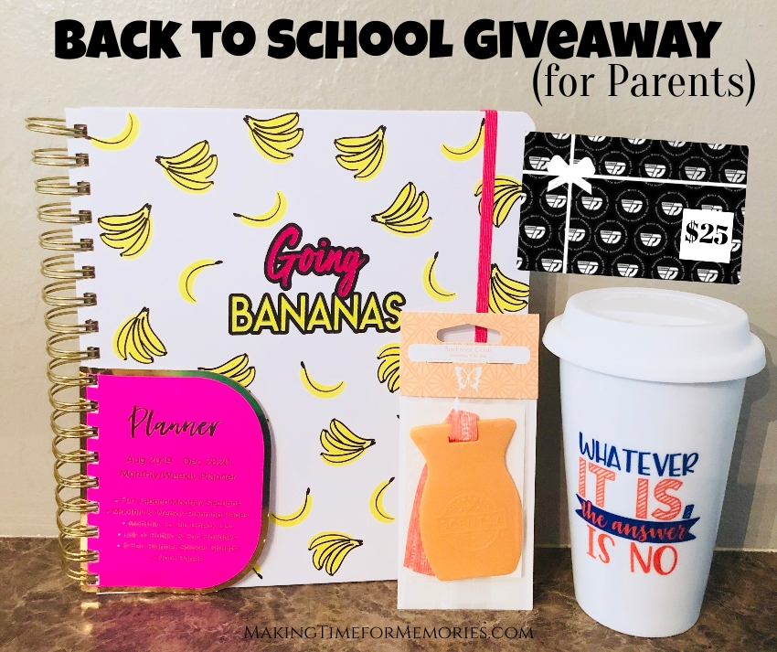 2019 Back to School Giveaway for Parents ~ #BacktoSchool #BTS #giveaway