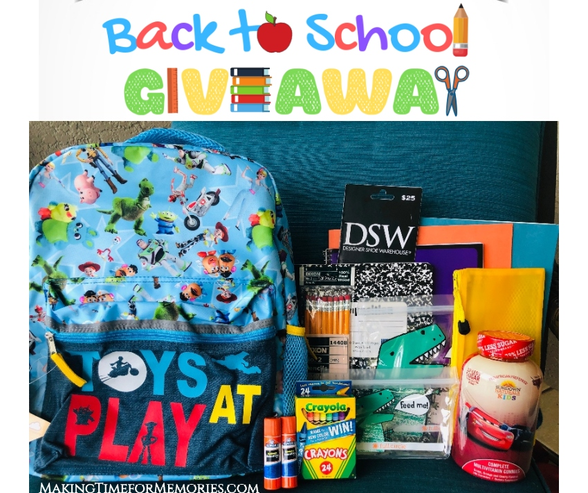 2019 Back to School Giveaway for Students ~ #BacktoSchool #BTS #giveaway