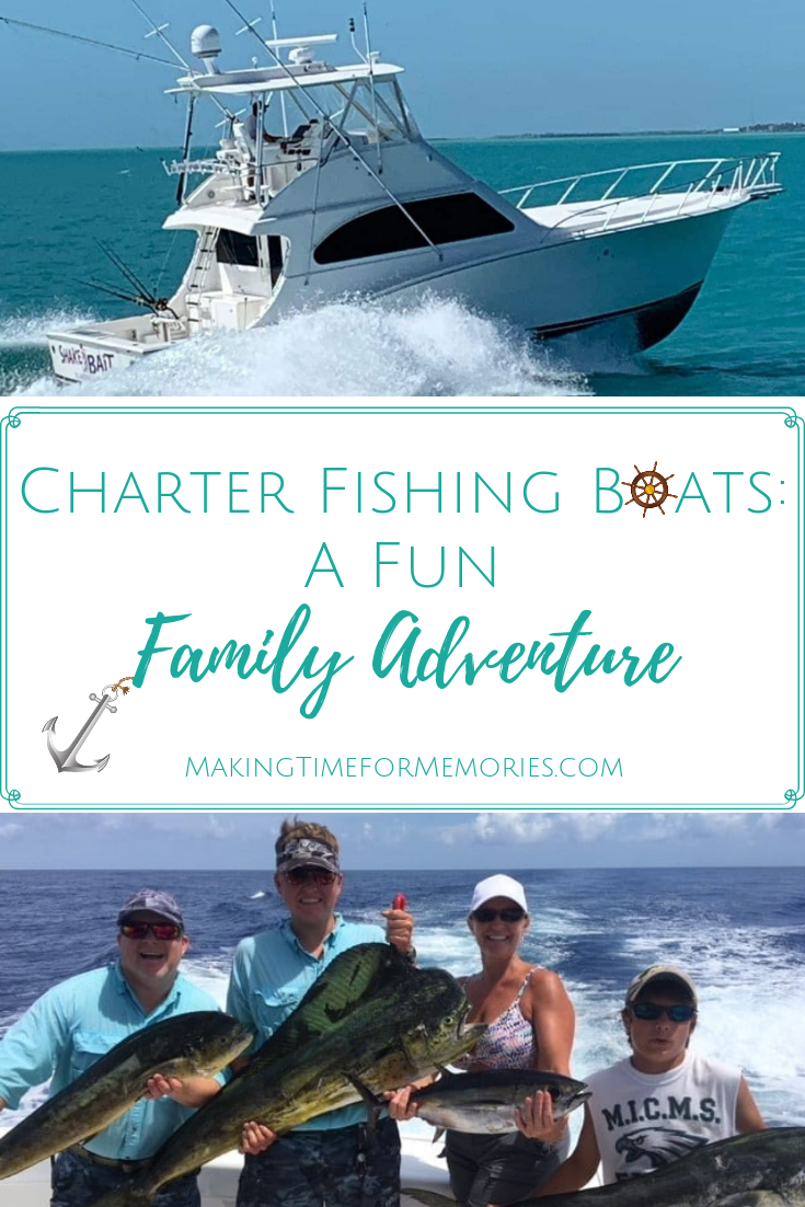 Charter Fishing Boats: A Fun Family Adventure ~ #ShakeNBaitCharters #familyfun #FloridaKeys