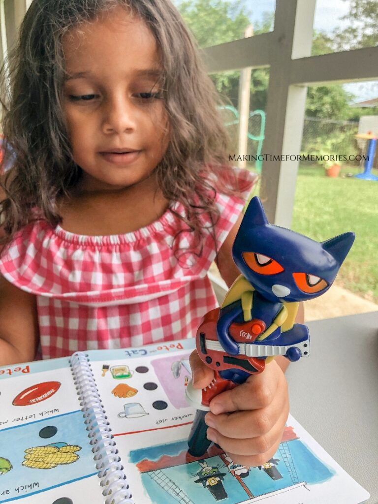 Hot Dots Jr. is a Great Speech Therapy Tool for Preschoolers ~ #HotDotsJr #EducationalInsights #speechtherapy #preschoollearning