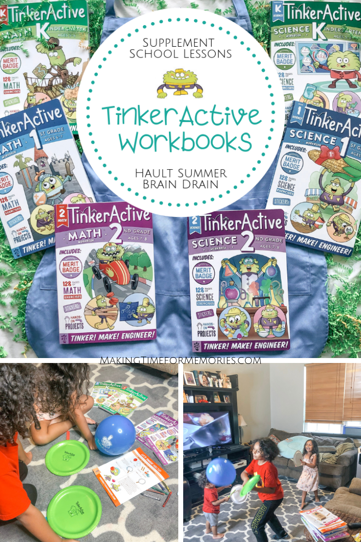 TinkerActive Workbooks are Real Hands-On Learning Fun ~ #ad #MomsMeet #TinkerActiveWorkbooks @MomsMeet @odddotbooks #handsonlearning #tinkeringfun