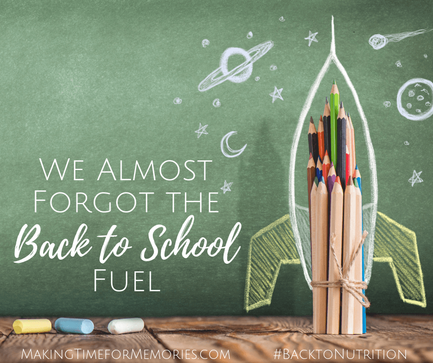 We Almost Forgot the Back to School Fuel ~ #ad #BacktoNutrition #VeggieStraws #EarthsBestOrganic #backtoschool #healthysnacks