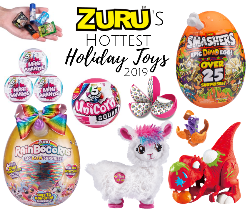 ZURU's Hottest Holiday Toys for 2019 ~ #ZURU #giftideas #giftsforkids #HolidayGiftGuide #sponsored