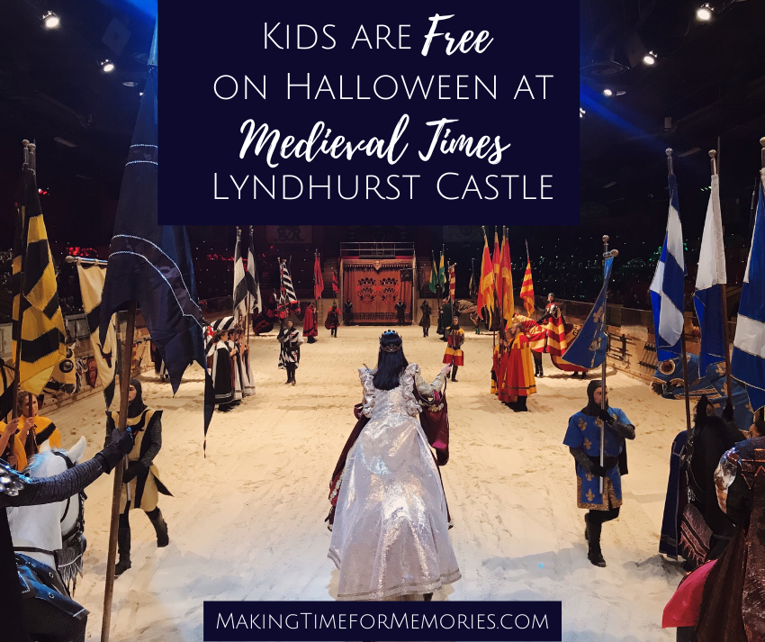 Kids are Free on Halloween at Medieval Times Lyndhurst Castle