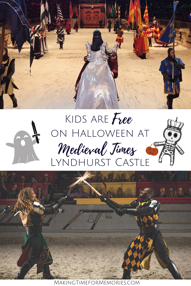 Kids are Free on Halloween at Medieval Times Lyndhurst Castle + Giveaway