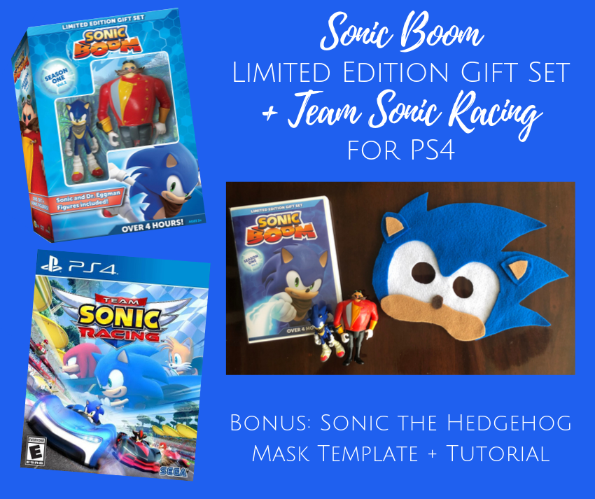 Sonic Boom Limited Edition Gift Set + Team Sonic Racing for PS4 (Giveaway)