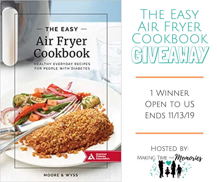 The Easy Air Fryer Cookbook Giveaway