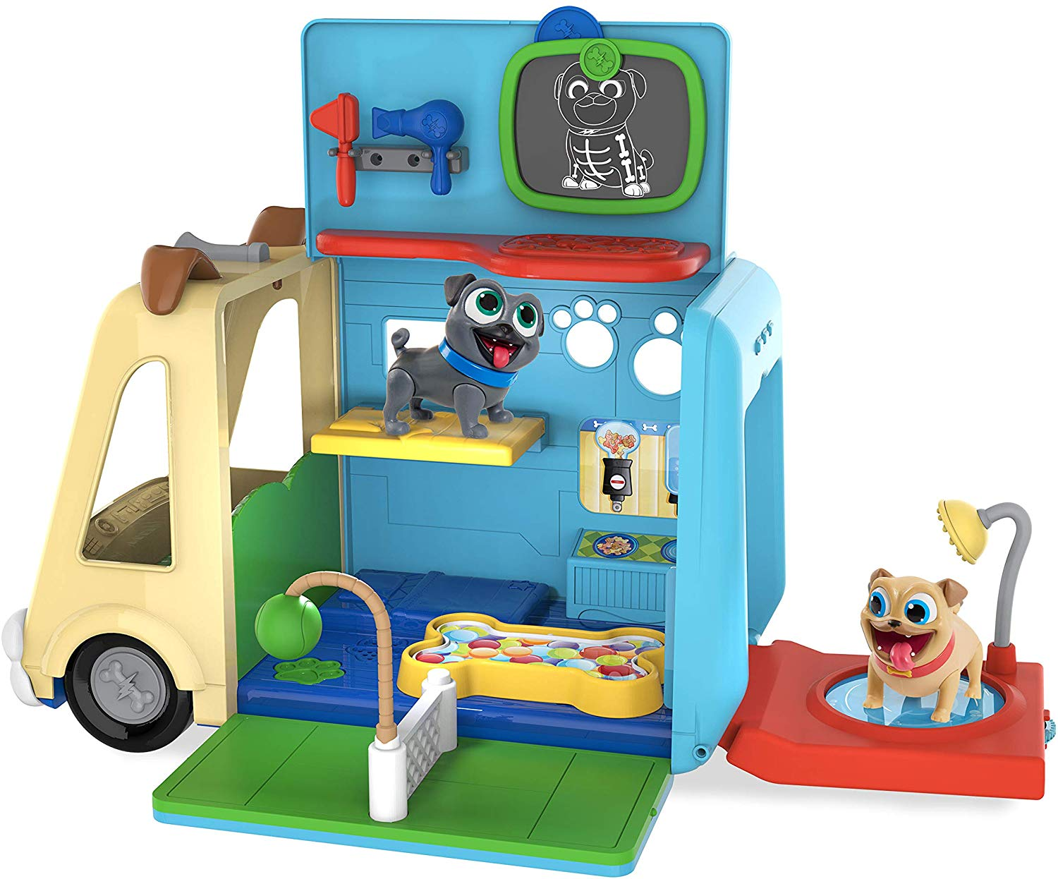 Puppy Dog Pals AWESOME Care Bus
