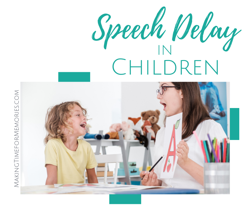 speech therapist and child working on the letter A
