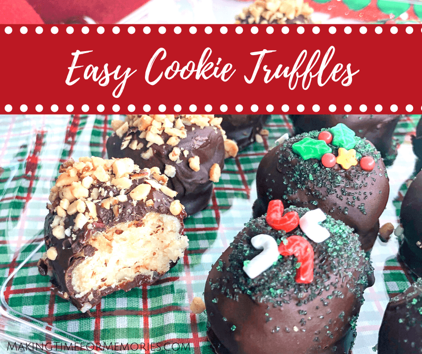 Easy Cookie Truffles