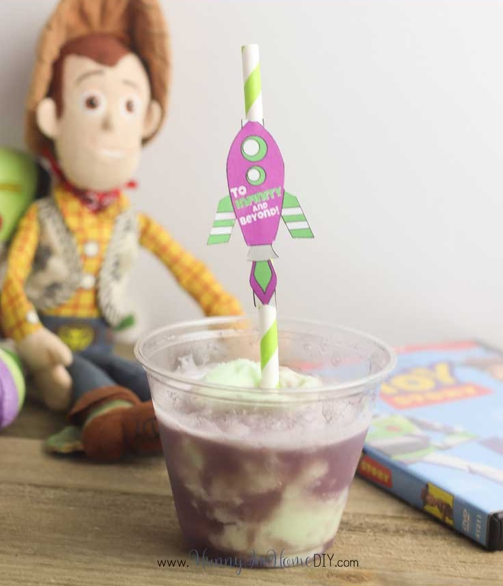 Buzz Lightyear Floats by Hunny I'm Home