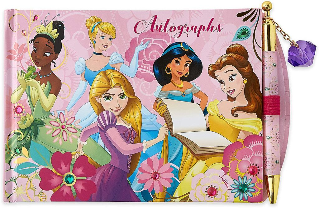 Disney Princess Autograph Book with Pen for a Disney Princess Meet and Greet