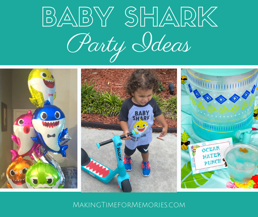 Baby Shark Party Ideas - Doo Doo Doo Doo Doo