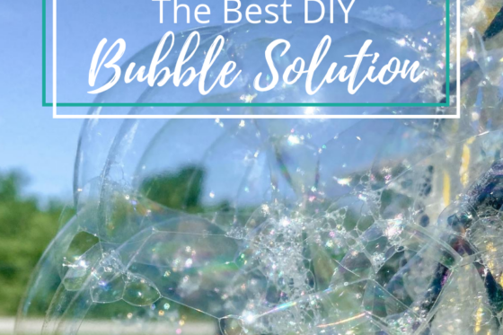 The Best DIY Bubble Solution