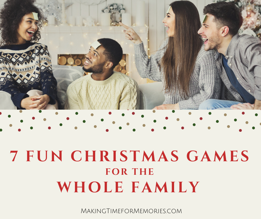 7 Fun Christmas Games for the Whole Family