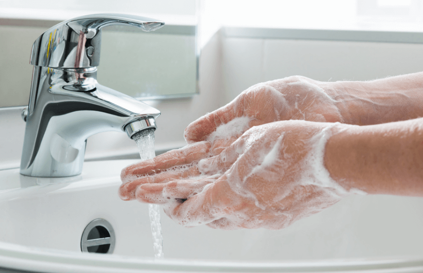Boost your immune system - hand washing