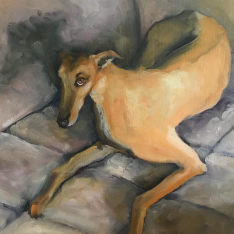 George Dog Painting