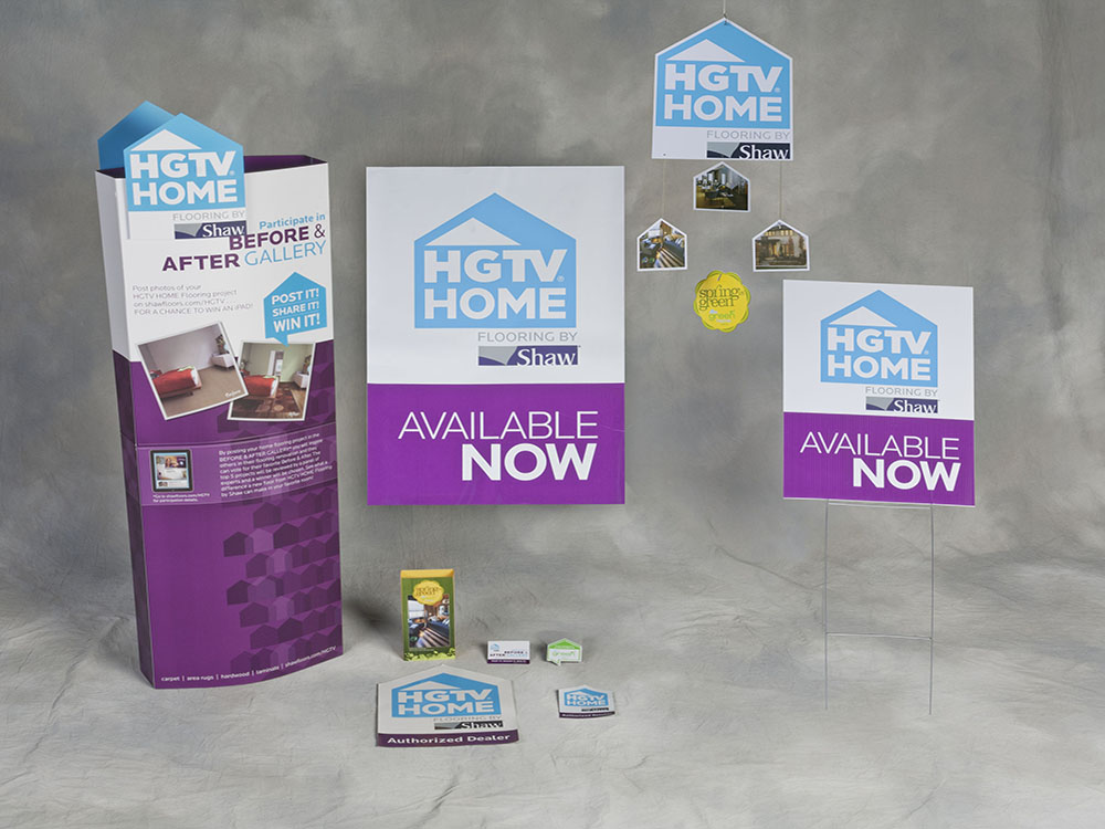 In Store Promotional Kit