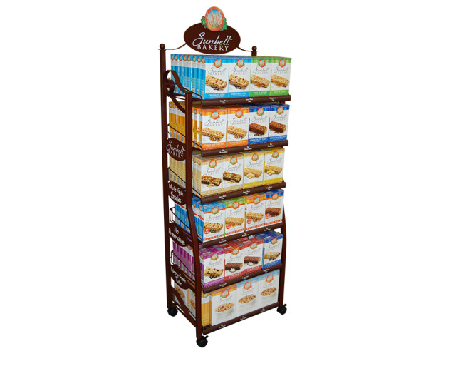 Bakery Metal Display