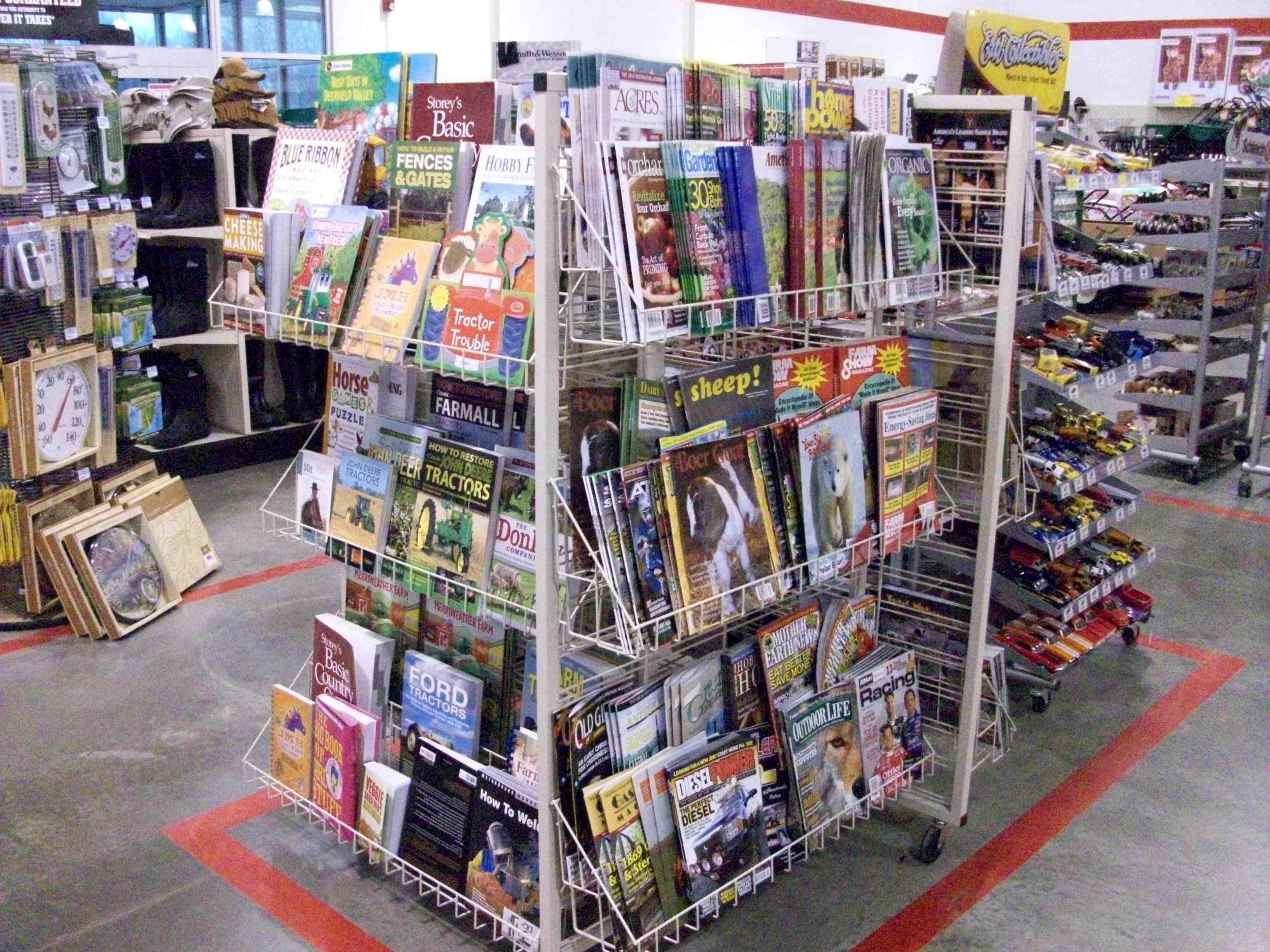 Custom Magazine/Book Display
