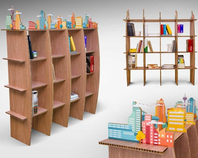 Decorative Product Shelving