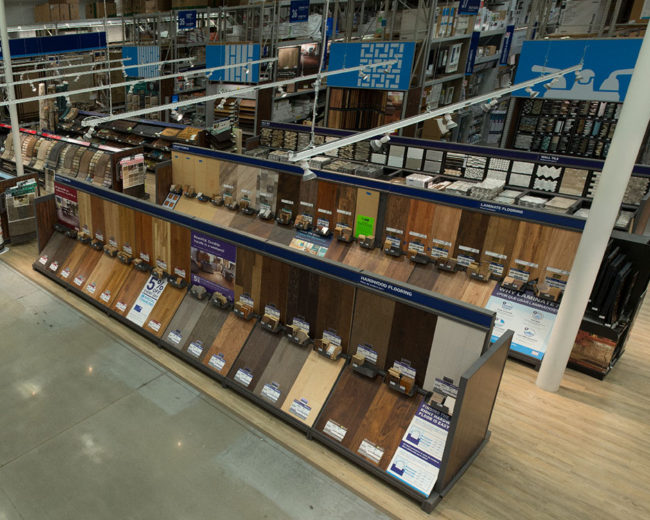 Complete Hardwood Flooring Department