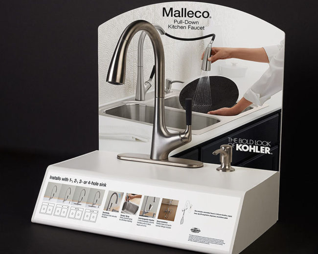 Sink Faucet Display
