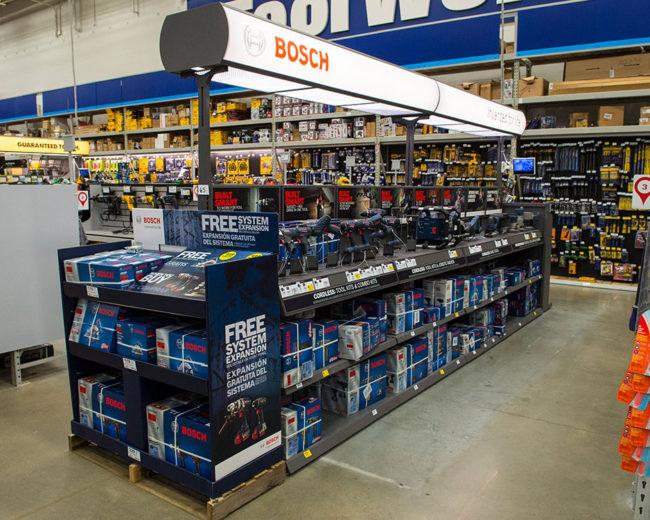 Tool Merchandising Fixture