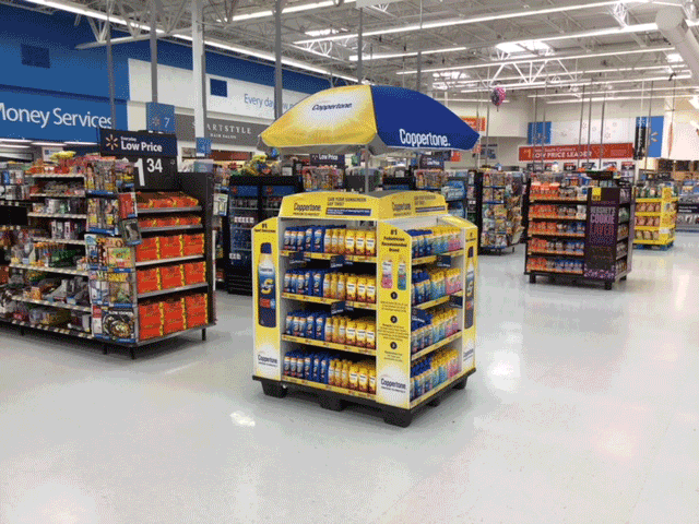 Coppertone In-Store Display