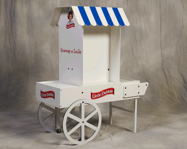 Little Debbie Muffin Cart