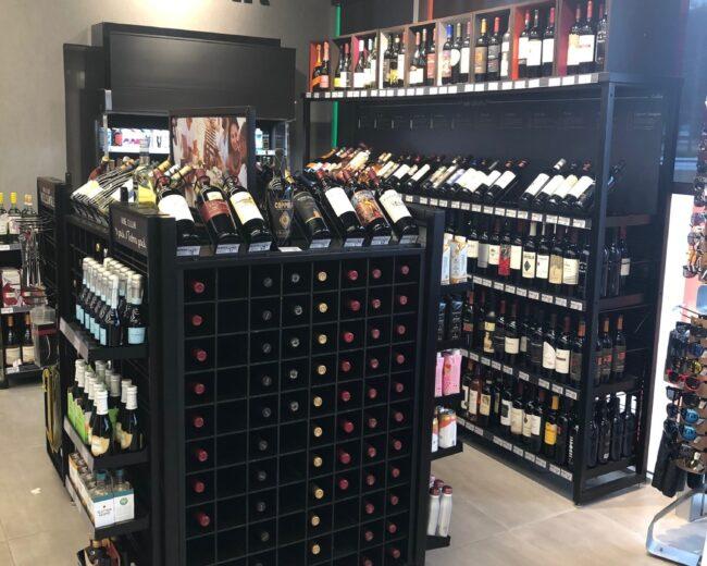 7 Eleven Wine Fixtures