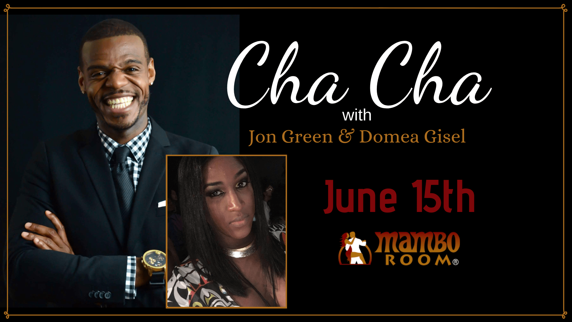Cha Cha with Jon Green!