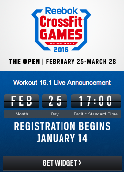 2016 Reebok Crossfit Games Open